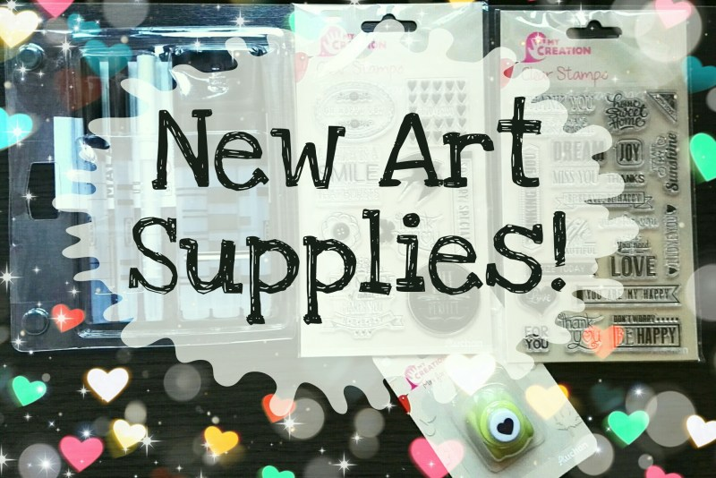 New Art Supplies by Cristina Parus @ creativemag.ro