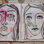 Art journaling – Work with what you have