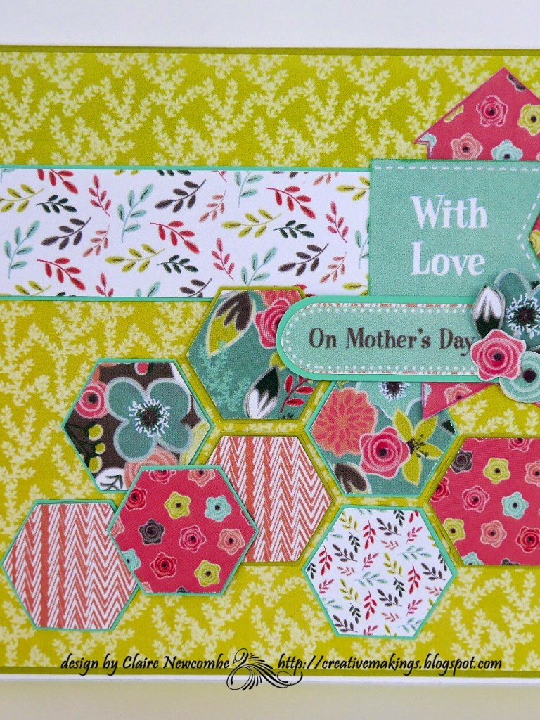 A Mother's Day card  that made me Smile…….lots !!