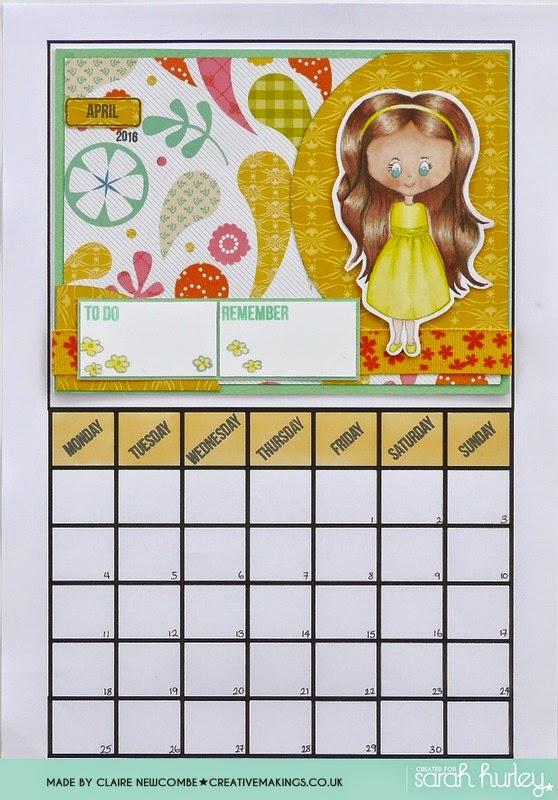 Create a Calendar –  April