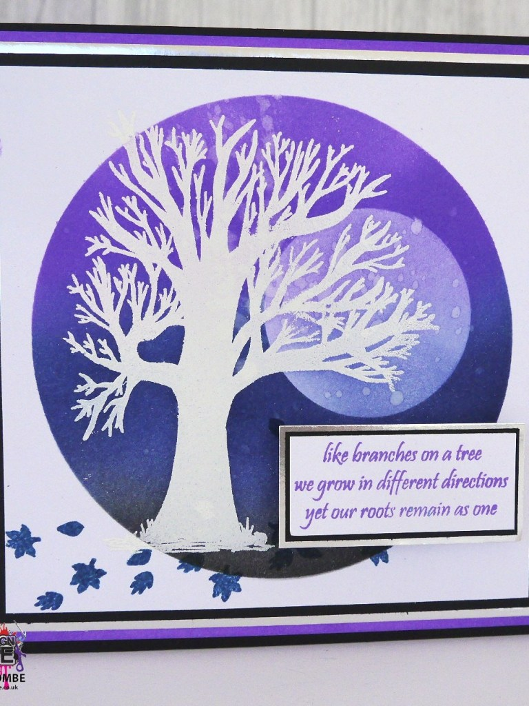 Imagine Design Create Family Tree stamps and circle stencil