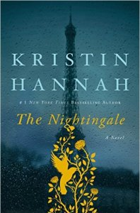 The Nightingale book cover by Kristin Hannah