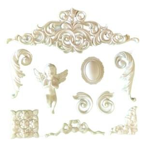 Resin Scrapbook Embellishments