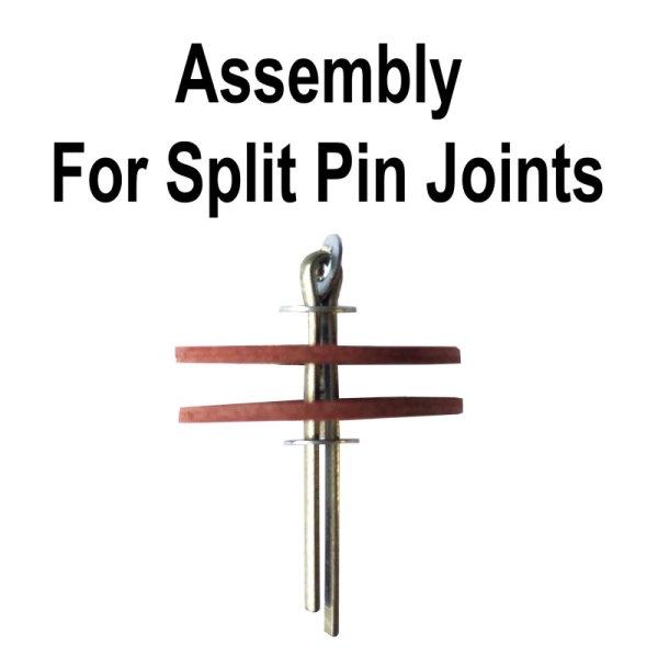 Teddy Bear Joint Split Pin Assembly