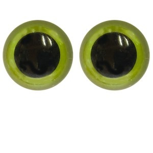 plastic safety eyes stuffed animals green