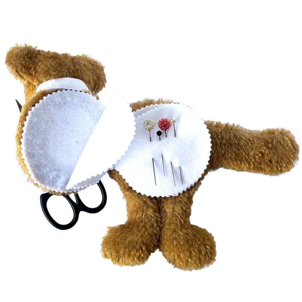 Kuki Needle Keeper Teddy Bear Megan Wallace