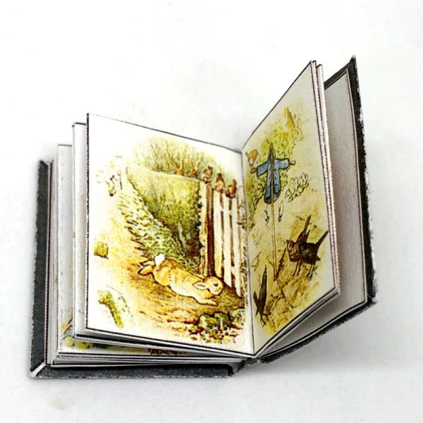 Peter Rabbit Miniature Book for Dollhouses by Beatrix Potter