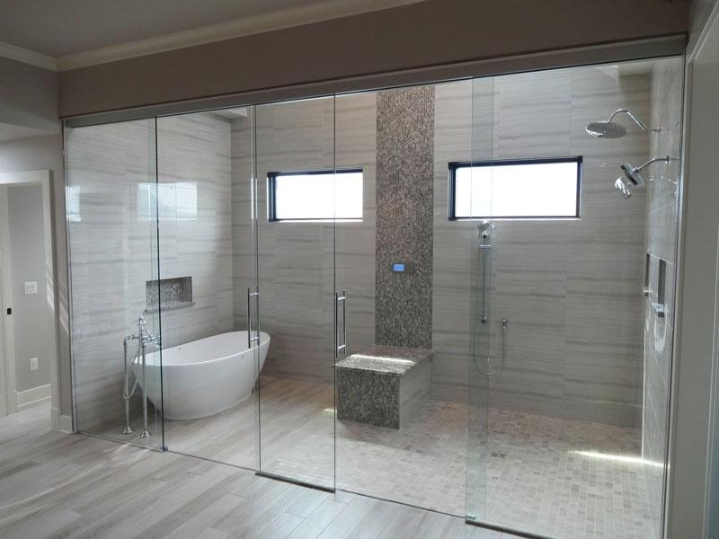 Wet Rooms Creative Mirror Amp Shower