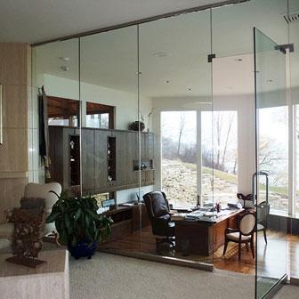 Architectural Swing Doors Amp Glass Walls Creative Mirror