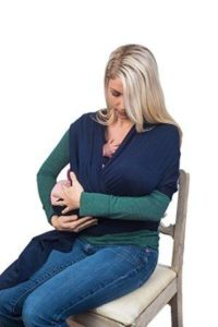 Navy Blue Baby Sling Wrap Carrier by Cozitot