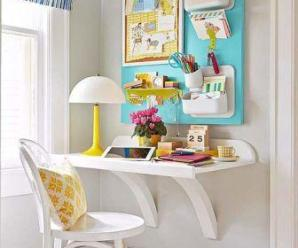 10 areas where Stay-at-Home Mom can create home office space