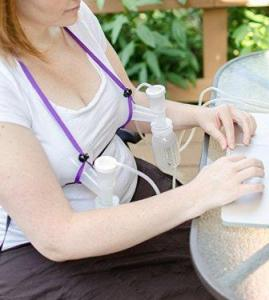 simplicity hands free pumping bra kit