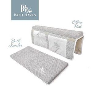 best bath kneeler and elbow rest