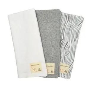 organic burp cloths