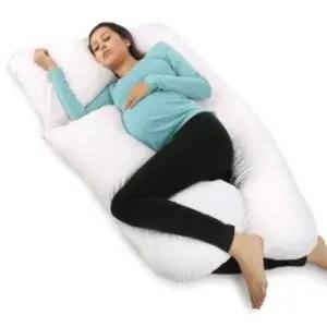 U-shaped pregnancy pillow