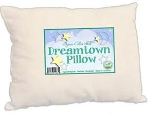 organic cotton toddler pillow