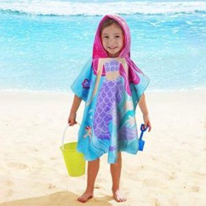 hooded beach towel