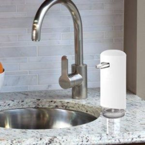 Automatic foam soap dispenser countertop