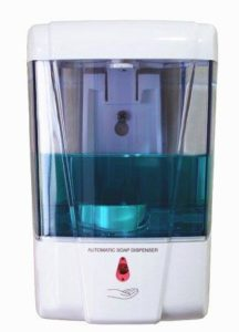 automatic wall mounted soap dispenser