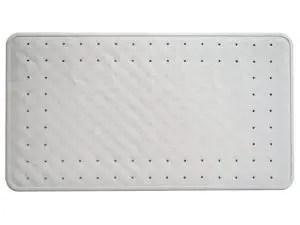 Natural rubber non-slip bath mat