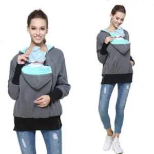babywearing sweatshirt