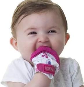 nuby soothing teething mitten