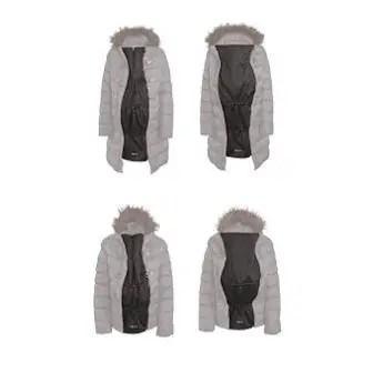 babywearing coat extender