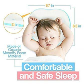 Ashton bee Newborn Baby Pillow