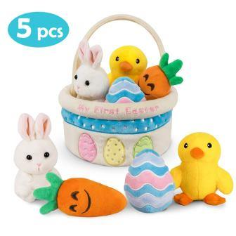 Ivenf My First Easter Basket Playset