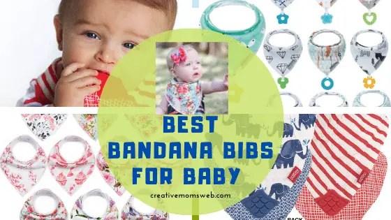 Bandana bibs for baby