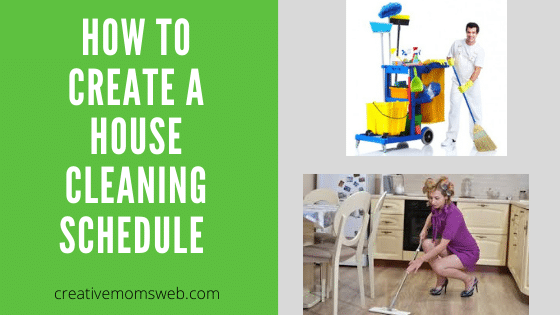 How to create a cleaning schedule