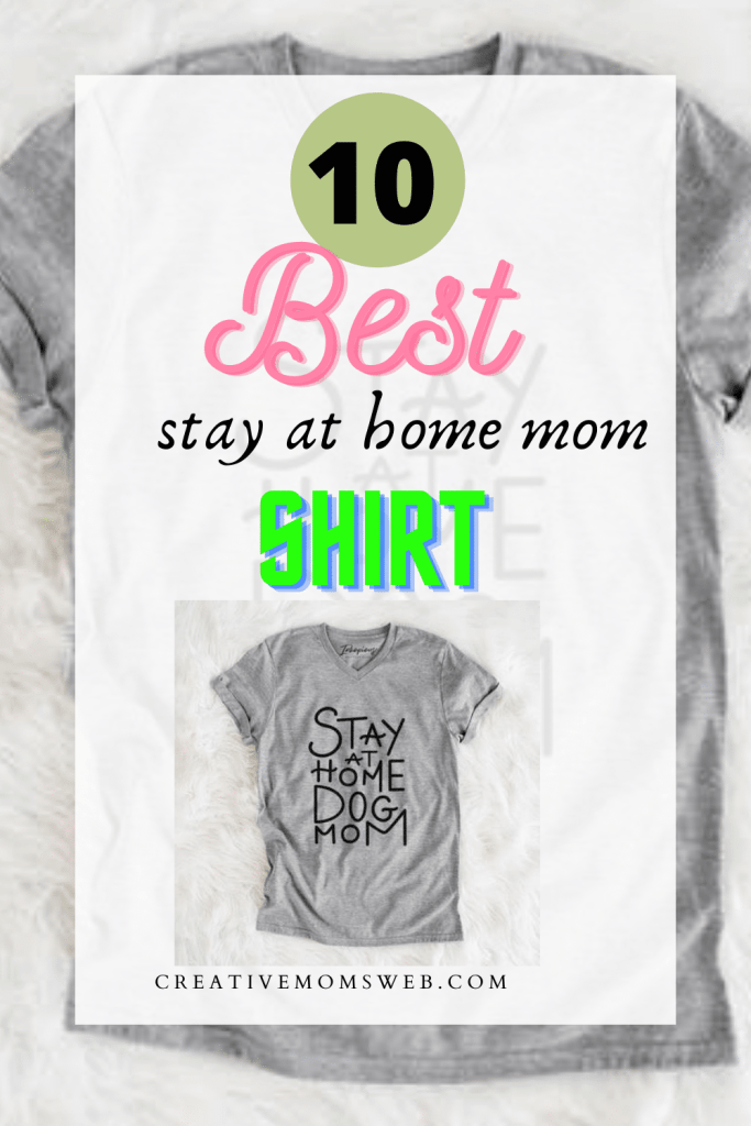 Stay at home mom shirts