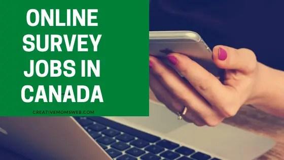 Canada survey jobs