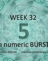 Week 32 2018 – a numeric BURST