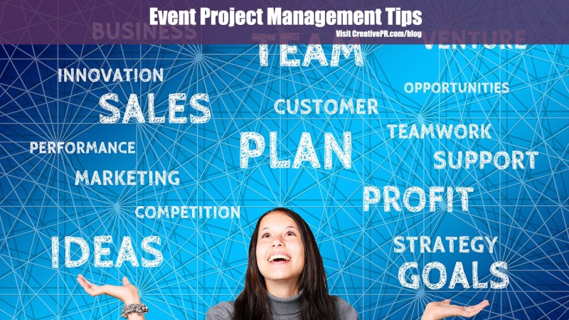 Event Project Management Tips
