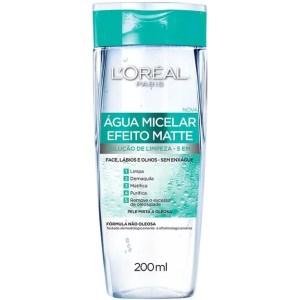 Água Micelar L'Oréal Paris Efeito Matte 200ml | Loréal | 200ml