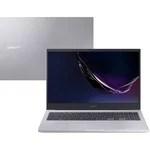 "Notebook Samsung Book E20 Intel Celeron 4GB 500GB W10 15,6"" Prata"