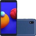 "Smartphone Samsung Galaxy A01 Core Dual Chip Android 10.0 Tela 5.3"" Quad-Core 32GB Wi-Fi Câmera 8MP - Azul"
