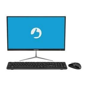 """All in One Positivo Union C4500Ai Intel® Celeron® Dual-Core™ Linux 21.5"""" - Preto"""