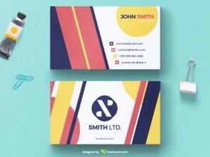 Creative geometrical business card