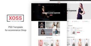 XOSS - eCommerce psd Template