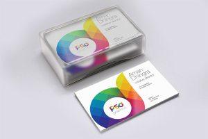 Creative Business Card Mockup Free PSD Graphics