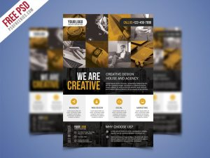 Creative Corporate Business Flyer PSD Flyer Bundle