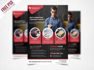 Creative Corporate Business Flyer Template PSD Freebie