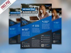 Creative Digital Agency Advertising Flyer PSD Template
