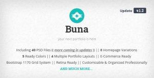 Buna - Your Next Agency/Portfolio PSD Template