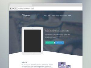 Creative Claymore ‰ÛÒ Landing page for app presentation