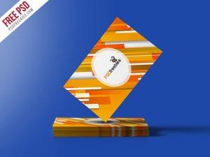 Creative Business Card Mockup PSD Freebie