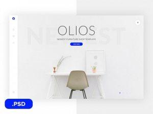Creative Olios: Ecommerce PSD template