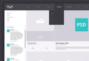 Creative Portfolio Archive ‰ÛÒ PSD template